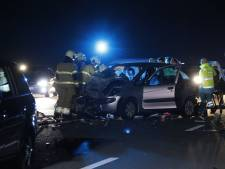 A77 richting Duitsland weer open na eerder ongeluk met vijf auto's
