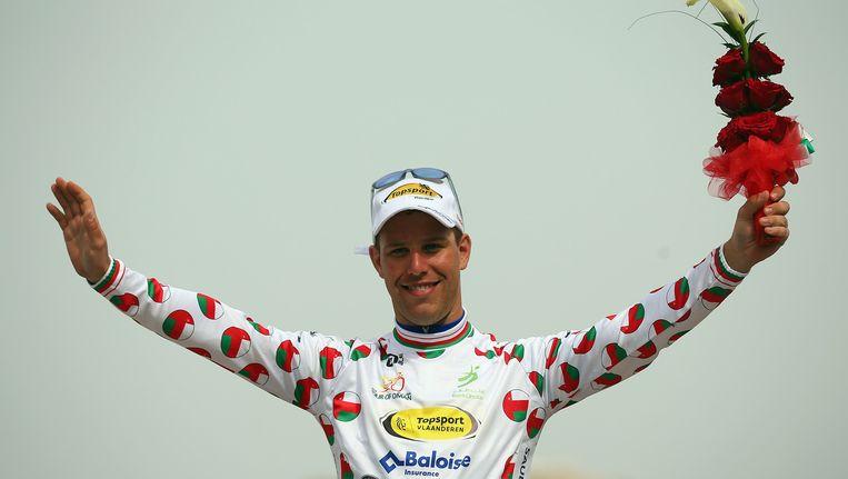 Jef Van Meirhaeghe namens Topsport Vlaanderen in Oman.