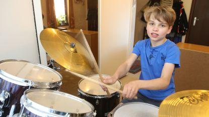 Melchior is beste jonge drummer van Vlaanderen