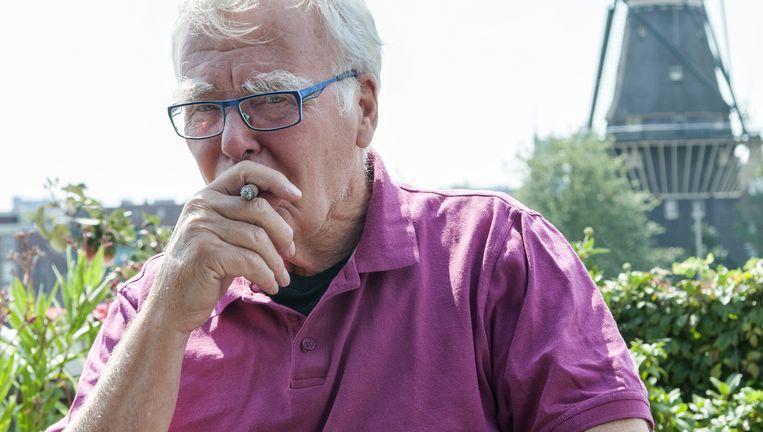 Strijder voor de auteursrechten van fotografen Kors van Bennekom (82). Beeld
