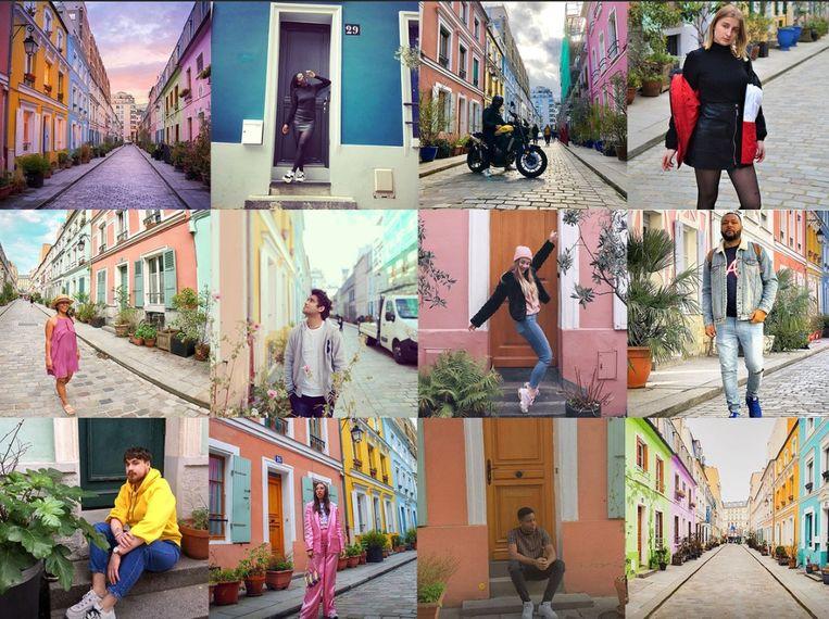 Instagrammers lijken wel verliefd op de Rue Crèmieux in Parijs.