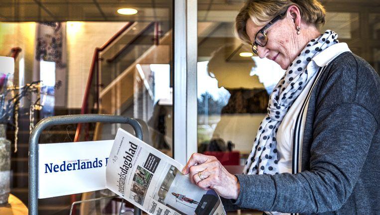 Redactiegebouw in Barneveld. Beeld Raymond Rutting / de Volkskrant