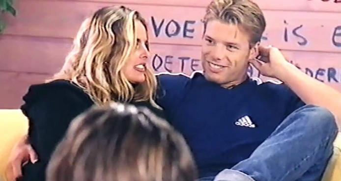 Sabine Wendel en Bart in Big Brother