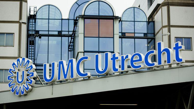 Logo van het Universitair Medisch Centrum Utrecht (UMC) Beeld anp