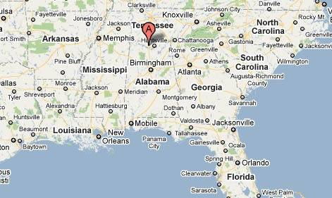 Le dernier phénomène en date est survenu dans la ville de Tanner, en Alabama.