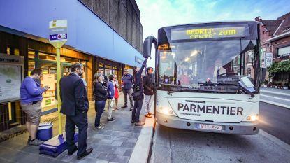 Fuifbussen brengen feestvierders op locatie