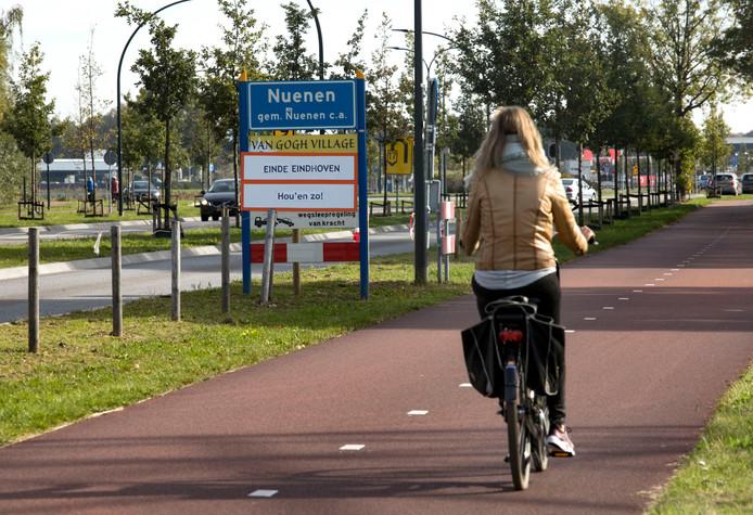 Protest in Nuenen tegen herindeling met Eindhoven