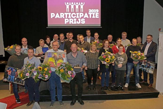 De winnaars van de Participatieprijzen van Baanbrekers