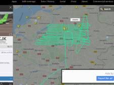Dit is waarom een Belgisch vliegtuigje vandaag zigzagt over de Veluwe