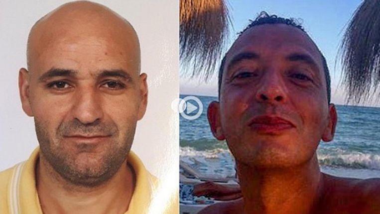 Links Said Razzouki en rechts Ridoaun Taghi Beeld Opsporing Verzocht