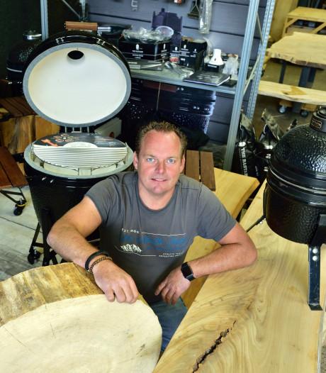 Brian maakt tafels van bomen uit het Groene Hart: 'Ik geloof in lokaal hout'