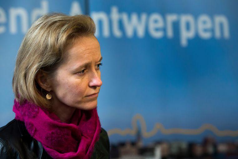 Antwerps havenschepen Annick De Ridder (N-VA).