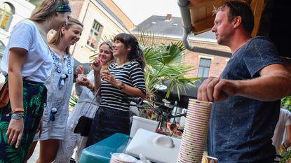 City Sounds Zomerbar opent met gratis ijsjes