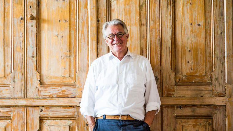 Jeroen Krabbé: 'De leukste is de Plantagebuurt, een soort dorp. Alleen de naam al is prettig.' Beeld Tammy van Nerum