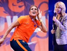 Claudia de Breij maakt loflied voor Oranje Leeuwinnen