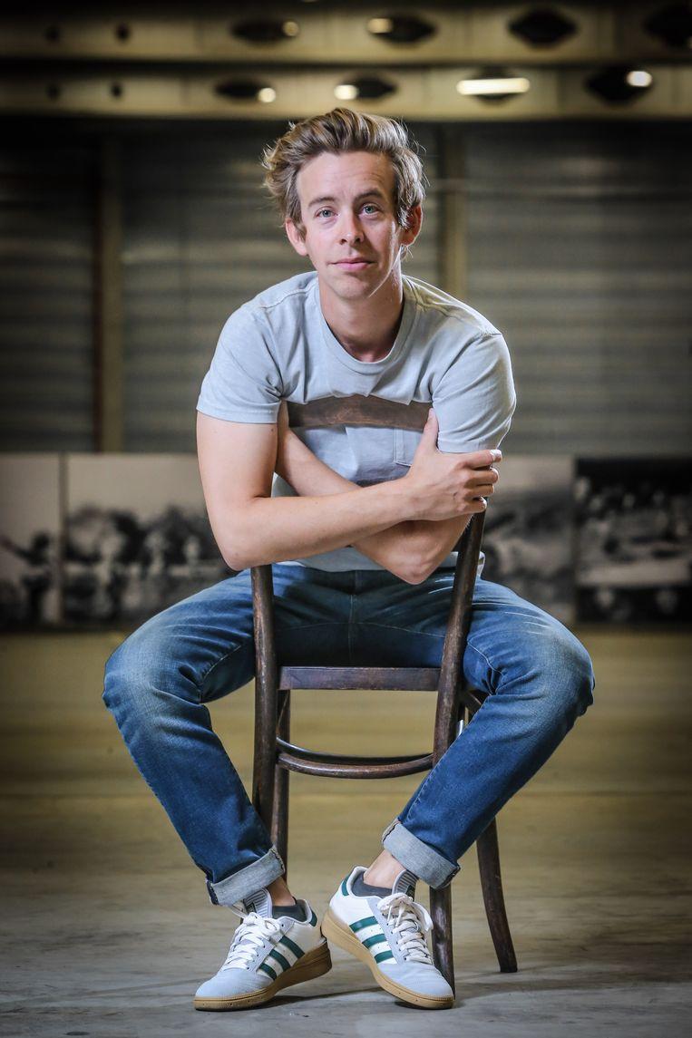 Jonas Van Geel werkt aan 'Moresnet'.