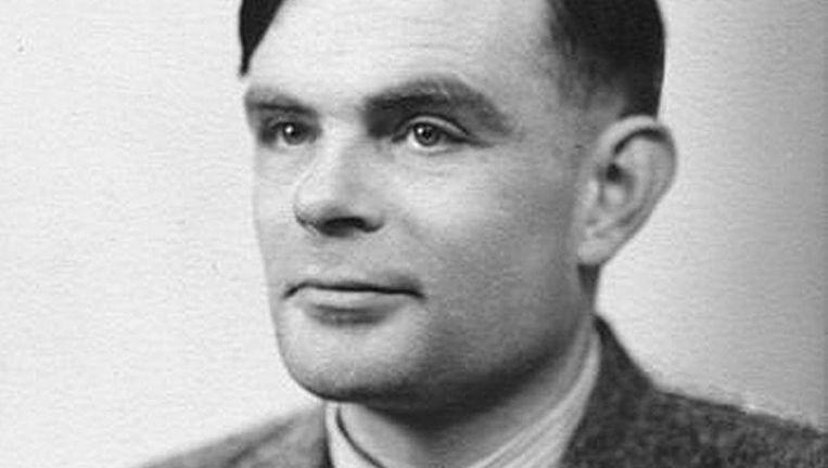 Alan Turing Beeld Veronique Smedts
