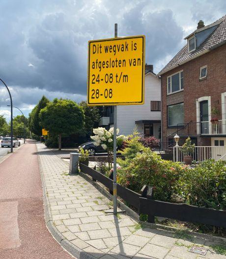 Werk aan de weg: fietspaden op Bornsestraat in Hengelo krijgen nieuwe laag