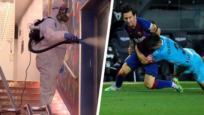 Messi gidst Barça met geweldige dribbel naar zege in Camp Nou, waar de grote middelen worden ingezet tegen coronavirus