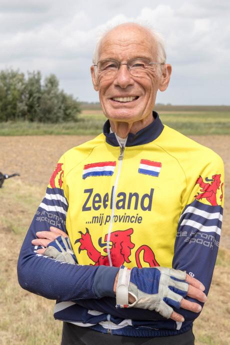 Jaap (77) uit Goes probeert het onvoorstelbare: 1200 kilometer fietsen in 90 uur, met amper slaap
