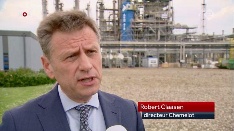 Chemelot-baas Robert Claasen Beeld Trouw