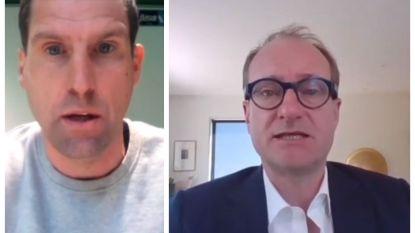 """Sporta en minister van Sport Ben Weyts hekelen technische werkloosheid bij Standard: """"Dit is echt gortig"""""""