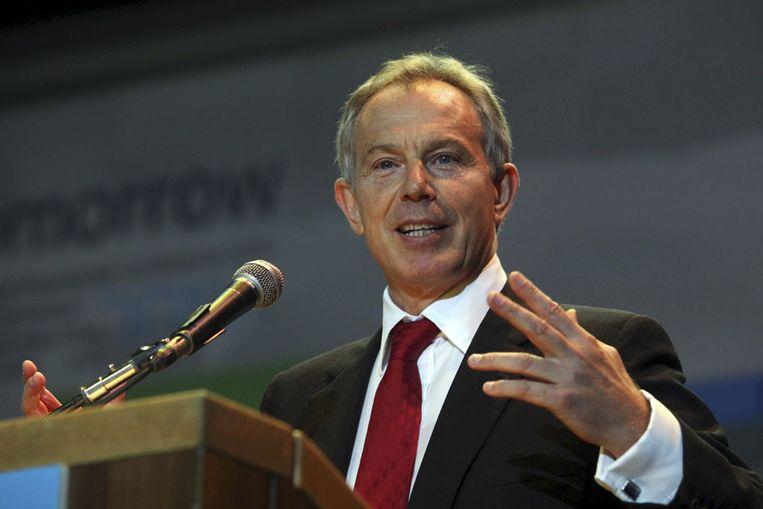 Tony Blair (AP) Beeld