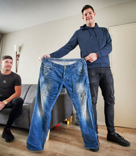 Rick (21) viel af, zoals zijn vader had gewild, maar nu zoekt hij geld voor huid-operatie