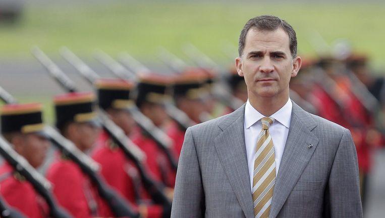 De Spaanse kroonprins Felipe. Beeld epa