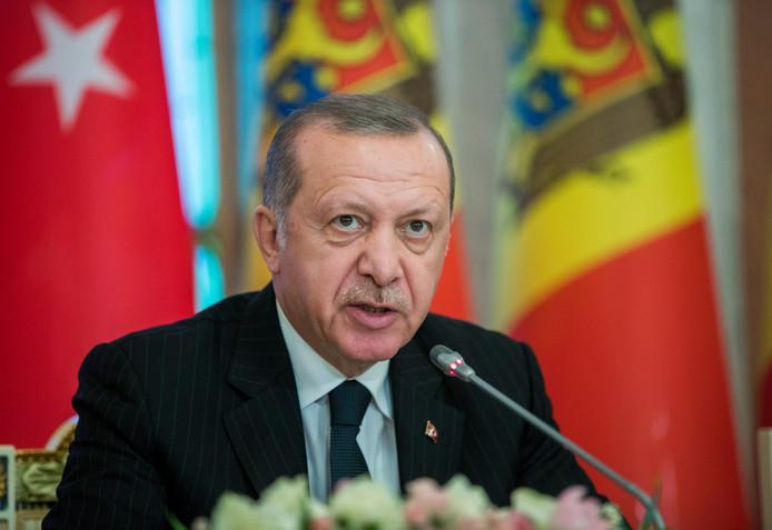 Turkse president Recep Tayyip Erdogan