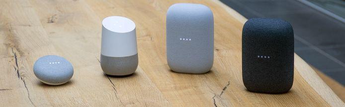 De line-up van Google.