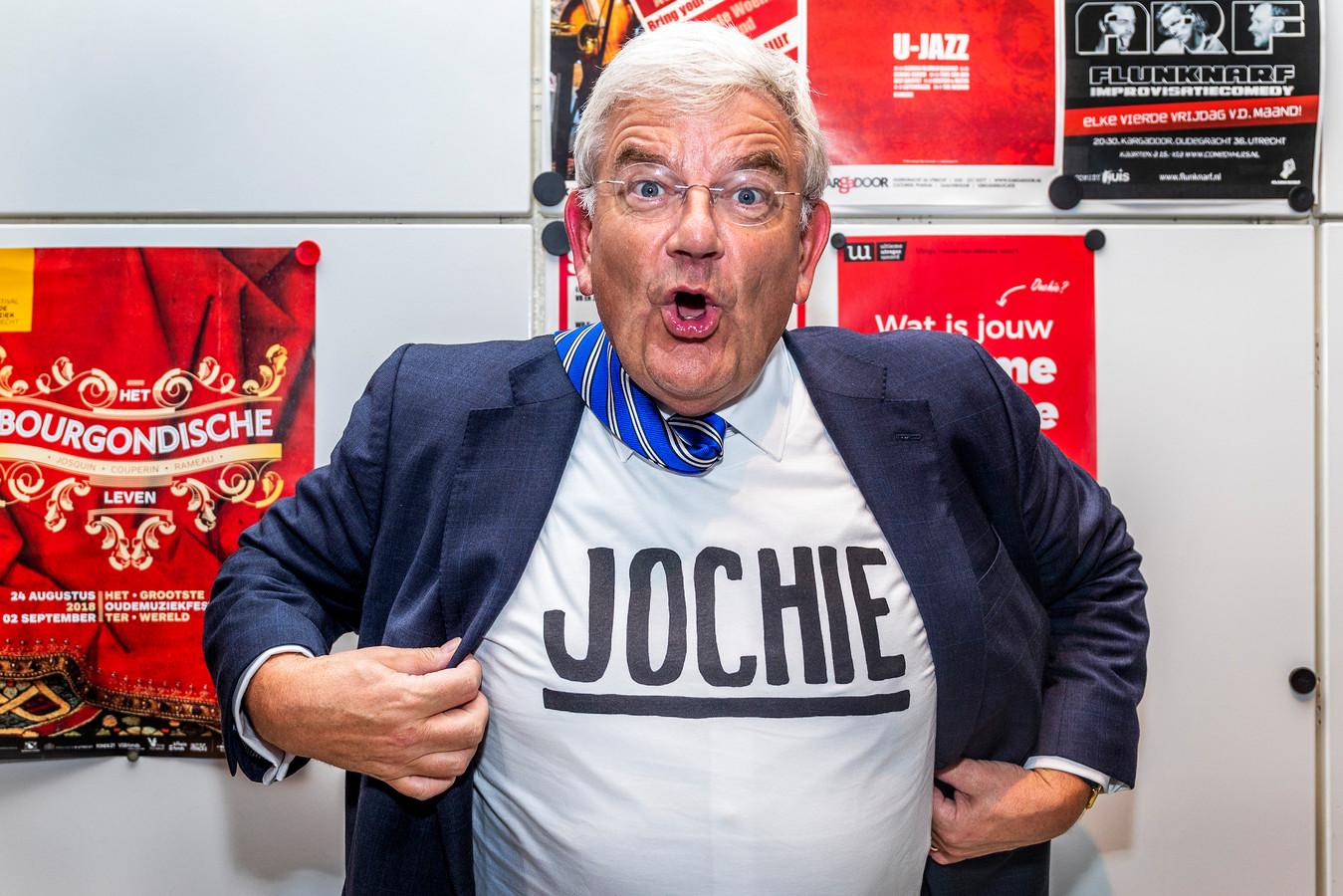 Het Utrechtse 'jochieshirt' gaat mee naar Den Haag.