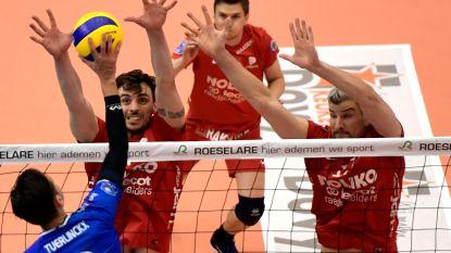 Roeselare boekt eerste overwinning van het seizoen in Champions League volleybal