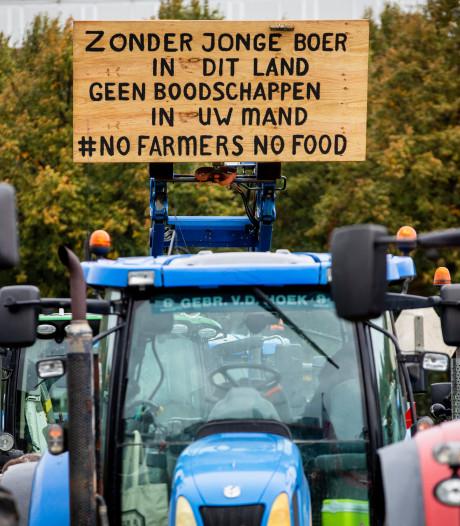 Eerste boeren onderweg naar Den Haag voor protesten