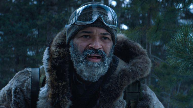 Jeffrey Wright in de duistere film Hold the Dark.  Beeld Netflix