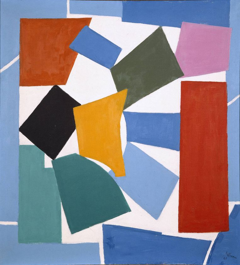 Alma Thomas: Watusi (Hard Edge), 1964. Beeld Polaris/Hollandse Hoogte