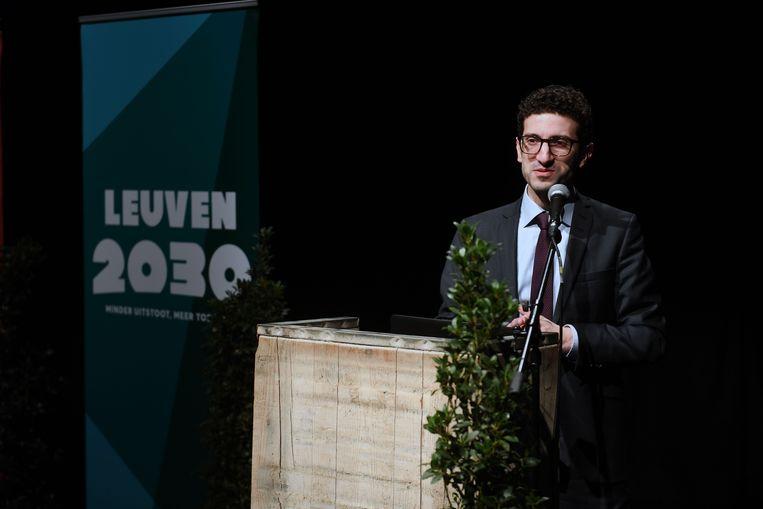 In Opec engageerden vijftien partners zich eerder al om de klimaatdoelstellingen van de stad Leuven mee waar te maken. Mohamed Ridouani (sp.a) heeft veel lof voor die stadsbrede aanpak.