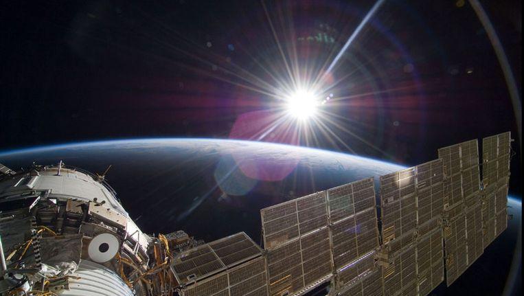 Foto gemaakt op 22 november vanaf het Russische gedeelte van het Internationaal Ruimtestation ISS. Beeld NASA