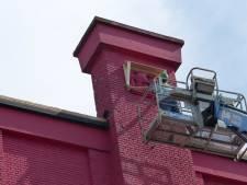 Oude gevelkunst Theater Zuidplein gered; mogelijk te bewonderen in Zuiderpark