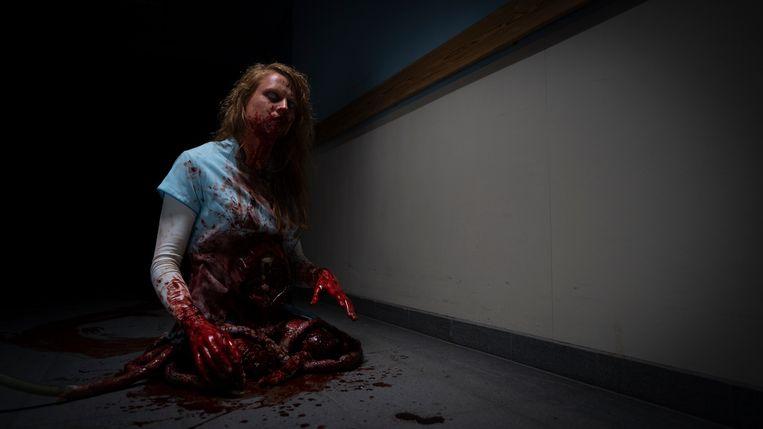 Hannelore Vens in de horrorfilm Yummy.
