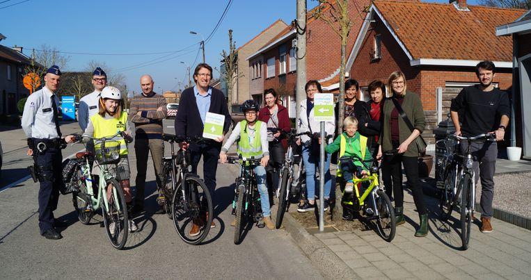 De fietsexamenroute in Lichtervelde krijgt permanente wegwijzers.