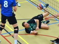 Volleyballers Kwiek terug aan de kop