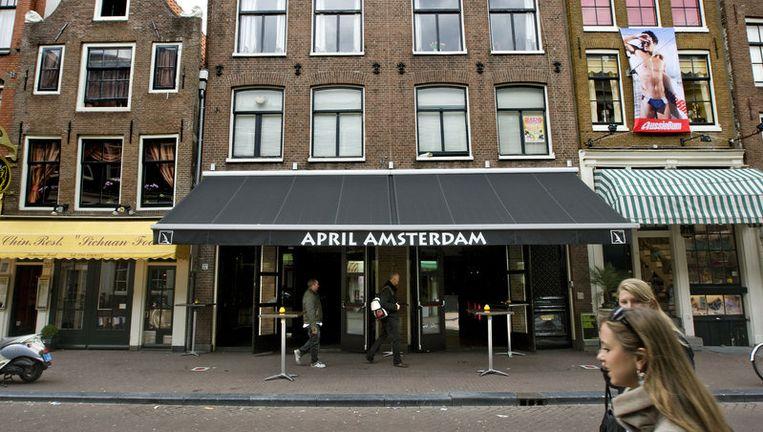 Woensdag werd café April deels ontruimd als gevolg van een geschil tussen horeca-eigenaar Sjoerd Kooistra en bierbrouwer Heineken over achterstallige huur. Foto ANP Beeld