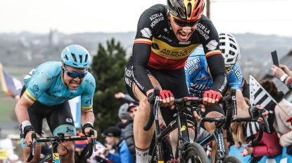 Ronde van Vlaanderen door Temse: renners passeren in Velle en Elversele