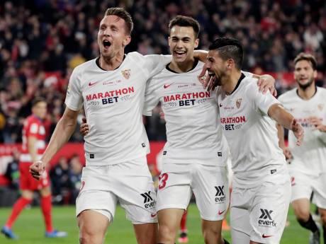 De Jong met knappe openingstreffer opnieuw belangrijk voor Sevilla