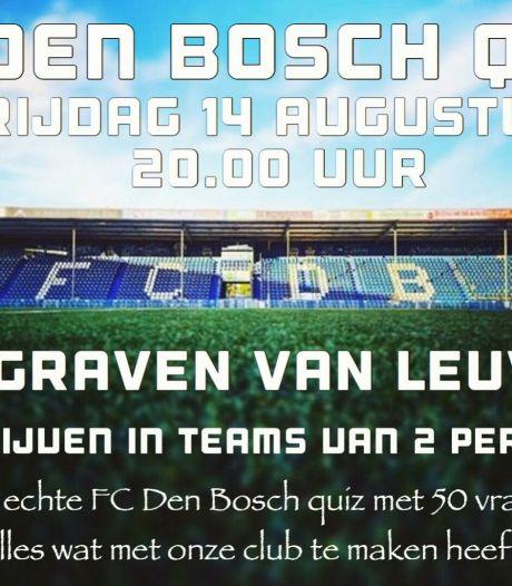 FC Den Bosch-quiz bij De Graven van Leuven