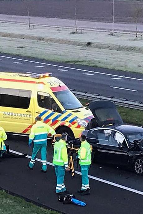 VIDEO'S: A50 weer open na ongevallen bij Nistelrode en Uden