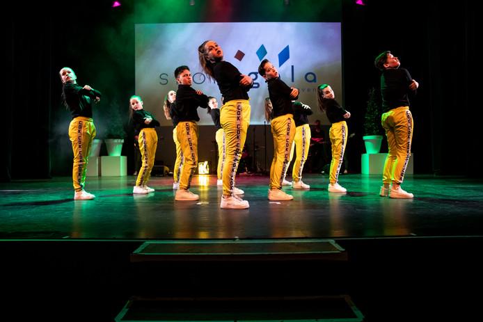 Een van de optredens tijdens het Sportgala in Veldhoven.