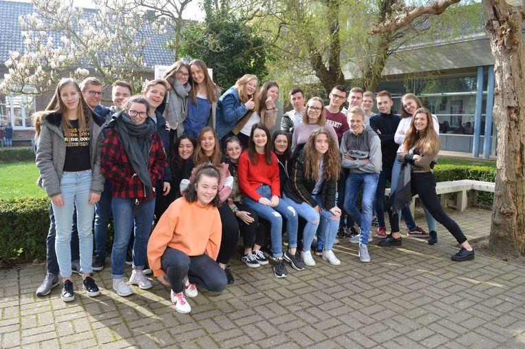 Een groep van 11 leerlingen uit het Waalse Barvaux-sur-Ourthe was vorige week te gast in Poperinge.