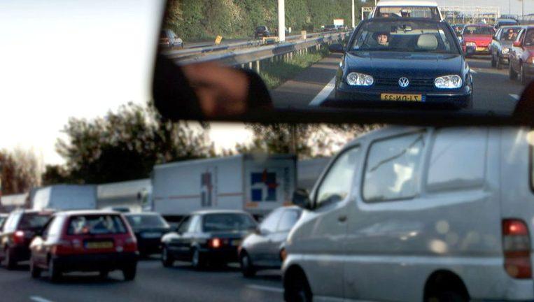 Zuid-Holland haalt veel geld op met de autobelasting. © ANP Beeld null